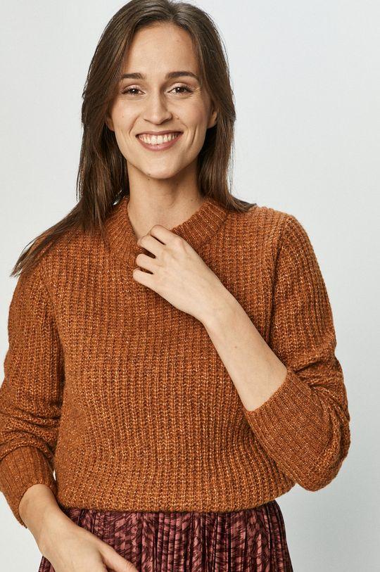 brązowy Jacqueline de Yong - Sweter