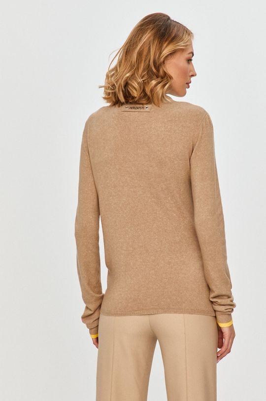 Patrizia Pepe - Sweter 22 % Akryl, 16 % Bawełna, 53 % Nylon, 6 % Spandex, 3 % Wełna