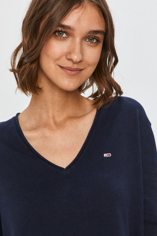bleumarin Tommy Jeans - Pulover