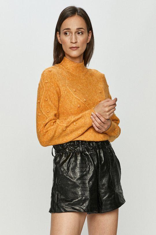 jasny pomarańczowy Vero Moda - Sweter Damski