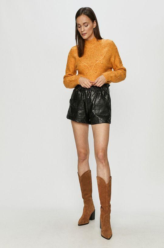 Vero Moda - Sweter jasny pomarańczowy