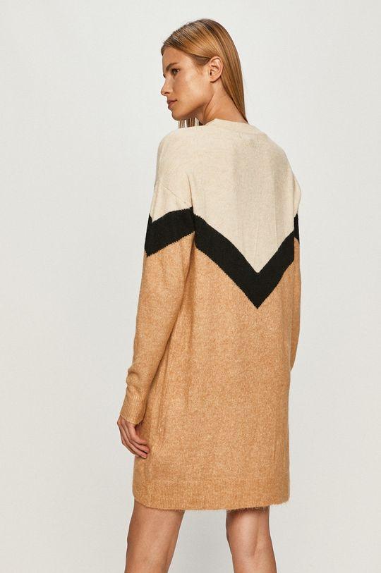 Vero Moda - Sukienka 41 % Akryl, 3 % Elastan, 52 % Poliester z recyklingu, 4 % Wełna