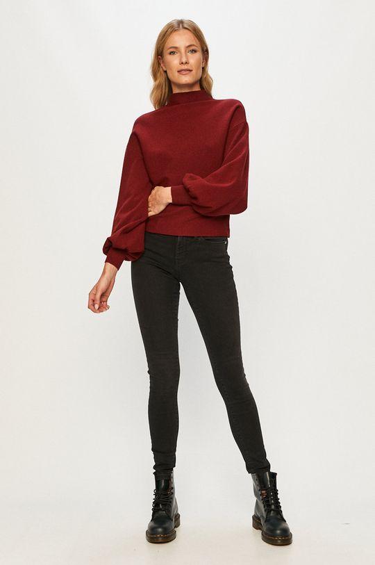 Vero Moda - Sweter kasztanowy