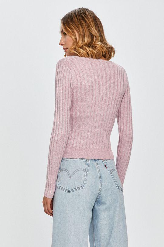 Pepe Jeans - Pulover Amanda  6% Nailon, 17% Poliester , 70% Viscoza, 7% Fibra metalica