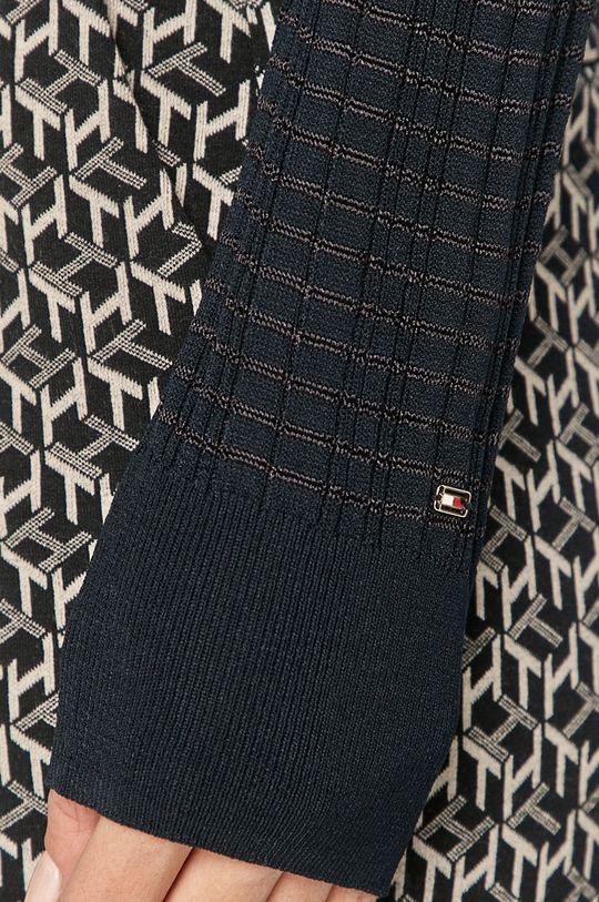 granatowy Tommy Hilfiger - Sweter