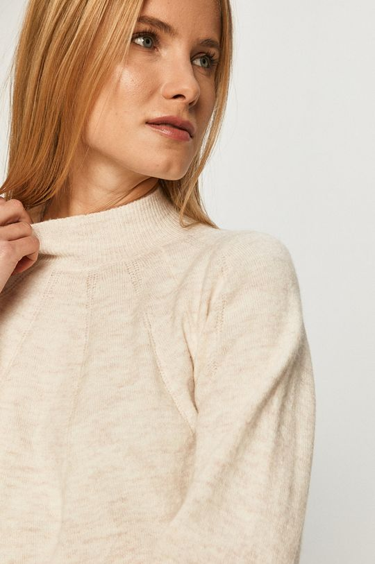 biały Pepe Jeans - Sweter Clotilda