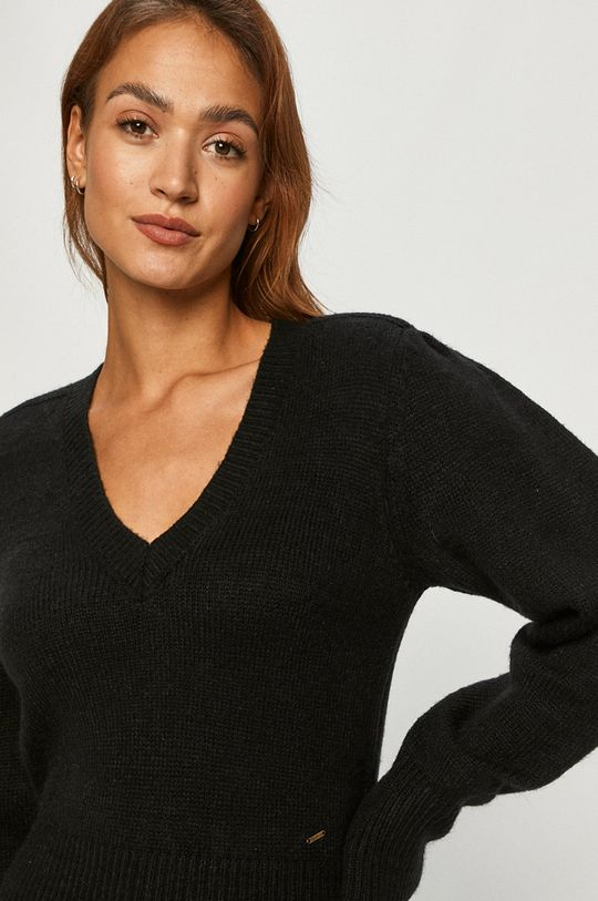 czarny Pepe Jeans - Sweter Sussi