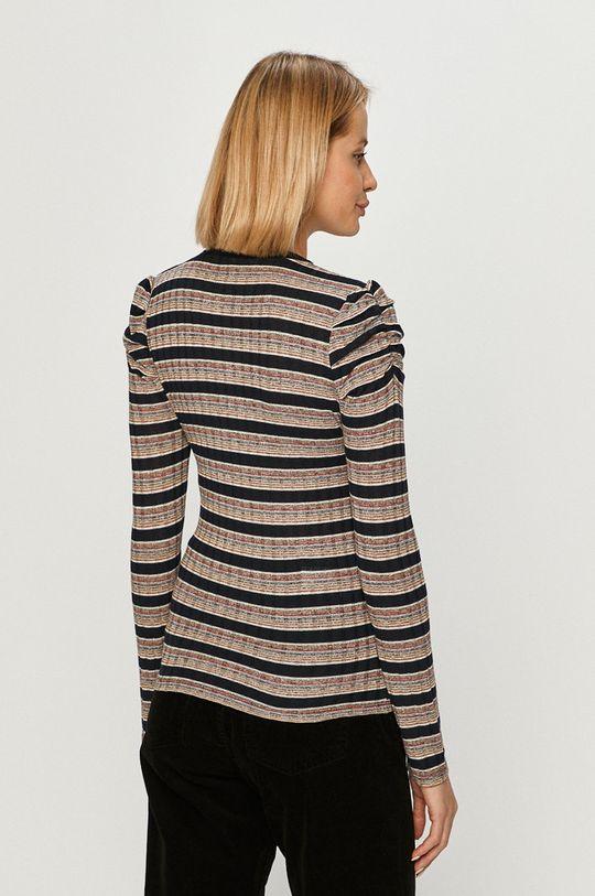 Pepe Jeans - Sweter Alma 4 % Elastan, 82 % Poliester, 12 % Wiskoza, 2 % Włókno metaliczne