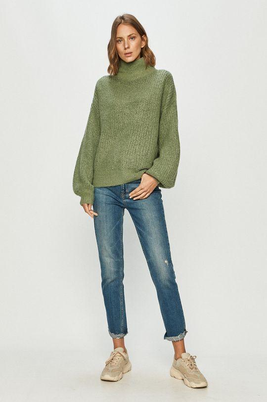 Noisy May - Sweter miętowy