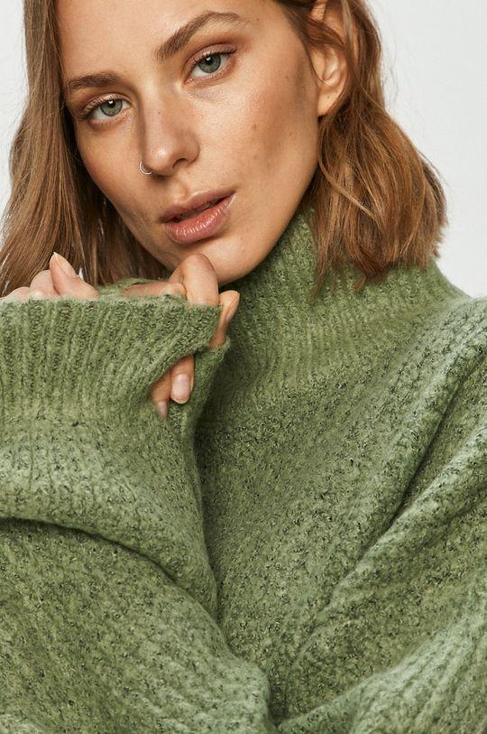 miętowy Noisy May - Sweter