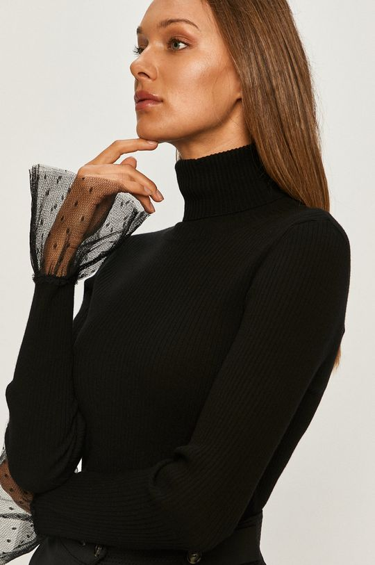 czarny Red Valentino - Sweter