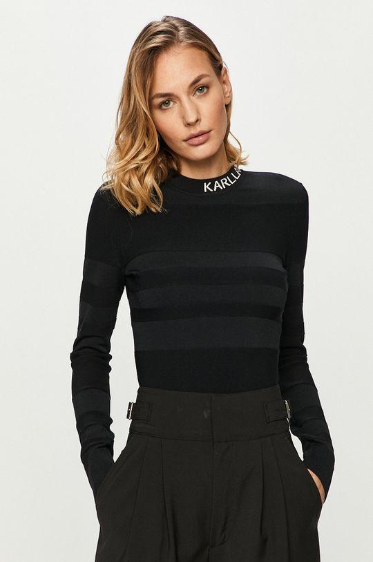 negru Karl Lagerfeld - Pulover De femei