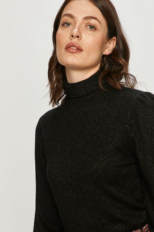 czarny Silvian Heach - Sweter