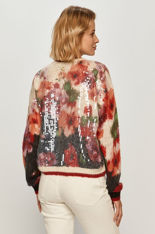 Twinset - Sweter Materiał zasadniczy: 30 % Moher, 40 % Poliamid, 30 % Wełna, Inne materiały: 100 % Poliester