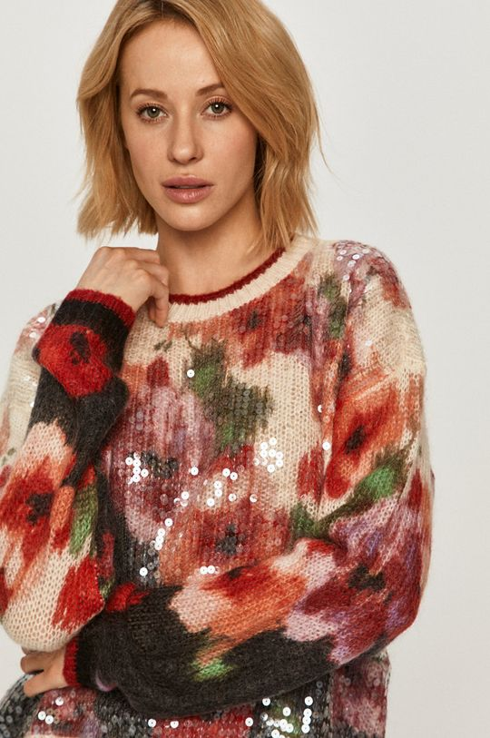 multicolor Twinset - Sweter