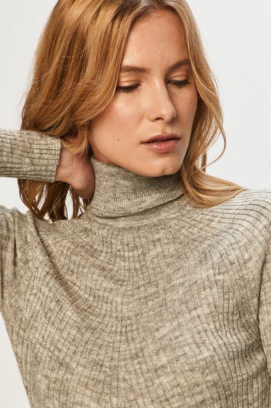 srebrny Brave Soul - Sweter