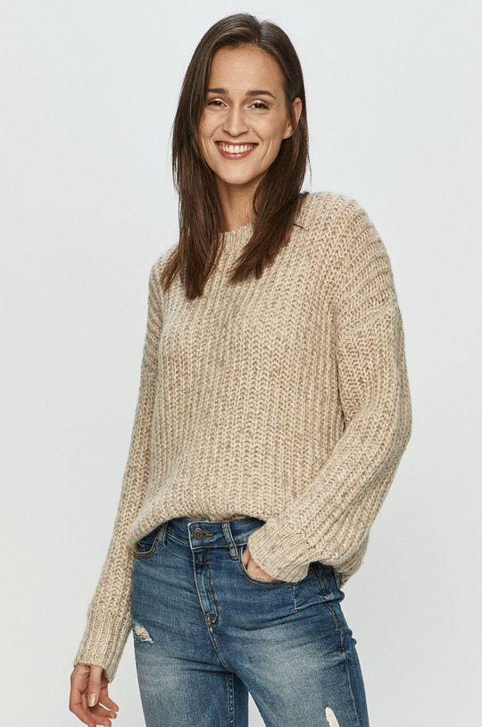 szary Jacqueline de Yong - Sweter Damski