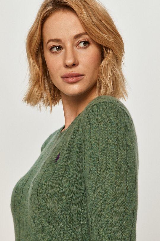 zelená Polo Ralph Lauren - Vlnený sveter