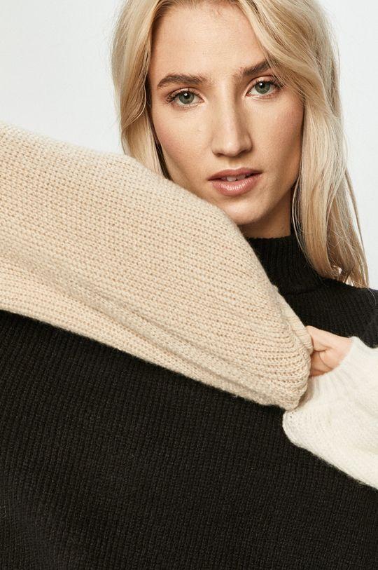 czarny Brixton - Sweter