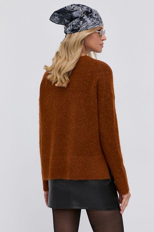 AllSaints - Sweter 5 % Elastan, 32 % Poliamid, 33 % Wełna, 30 % Alpaka