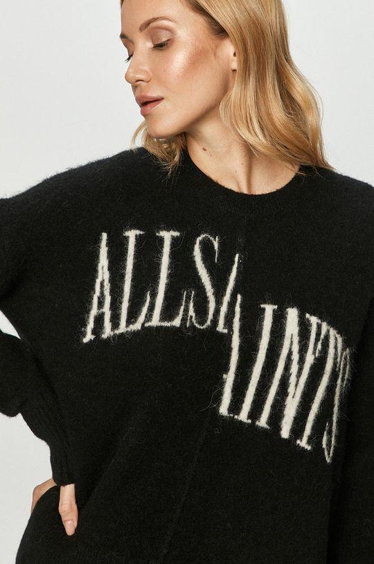 czarny AllSaints - Sweter