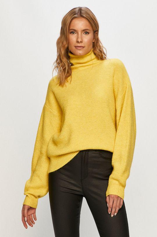 žltá Vero Moda - Sveter Dámsky