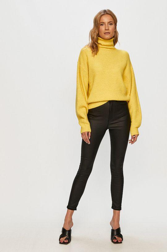 Vero Moda - Sveter žltá