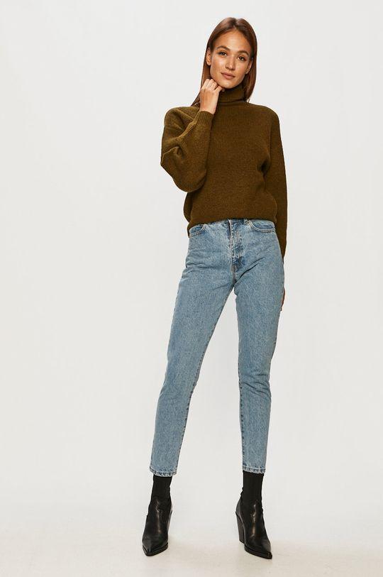 Vero Moda - Sveter zelená