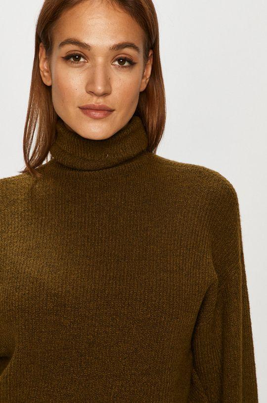 zelená Vero Moda - Sveter