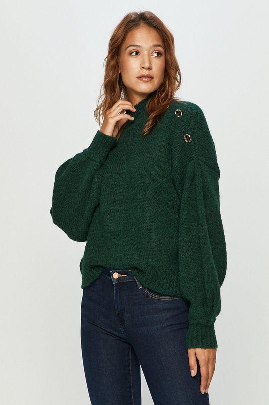 stalowy zielony Vero Moda - Sweter Damski