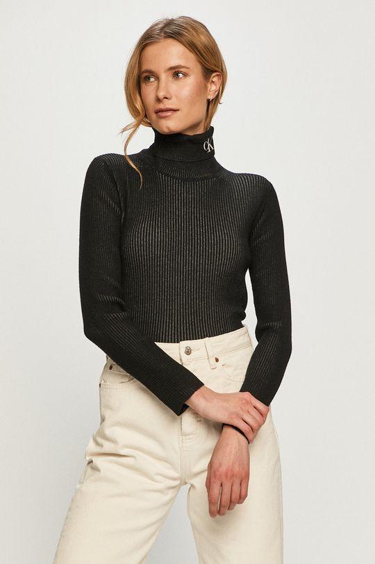 čierna Calvin Klein Jeans - Sveter Dámsky