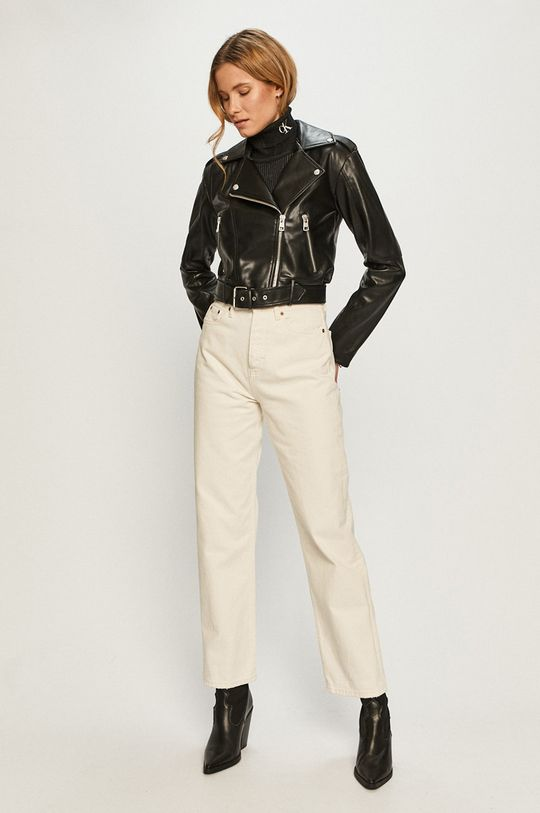 Calvin Klein Jeans - Sveter čierna