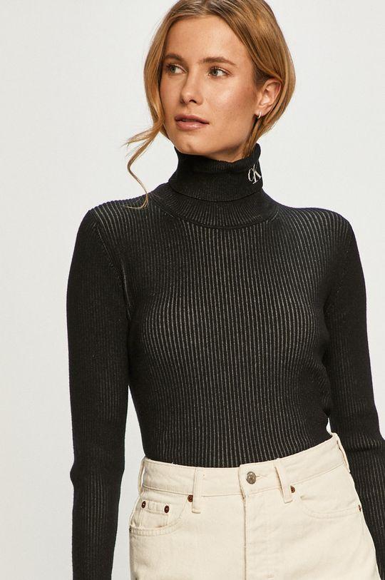 čierna Calvin Klein Jeans - Sveter