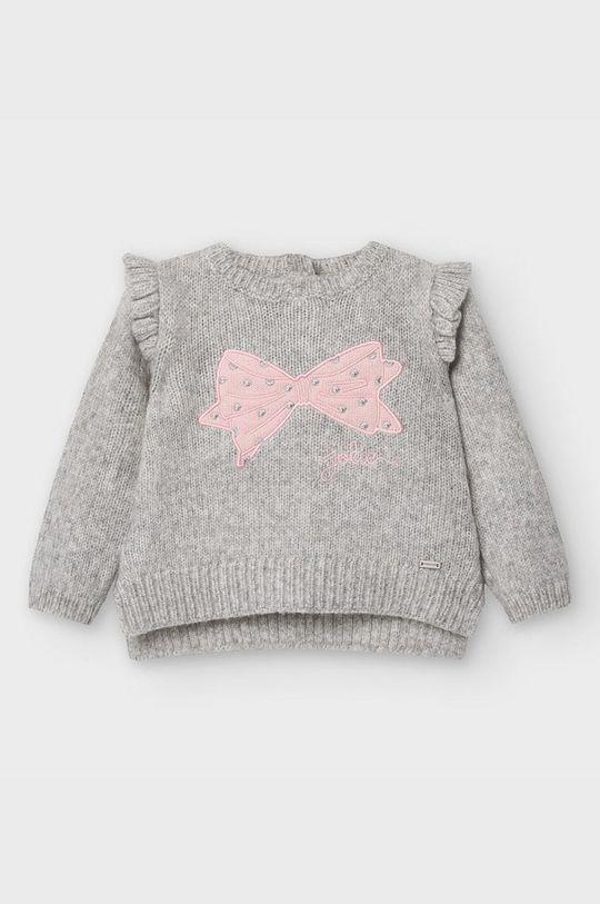 sivá Mayoral - Detský sveter 68-98 cm Dievčenský