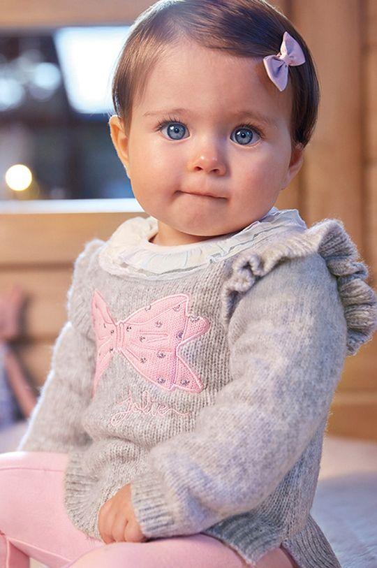 Mayoral - Detský sveter 68-98 cm sivá