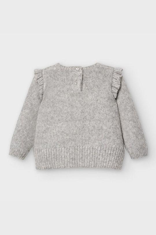Mayoral - Detský sveter 68-98 cm  47% Akryl, 42% Polyamid, 3% Polyester, 5% Vlna, 1% Viskóza, 2% Metalické vlákno