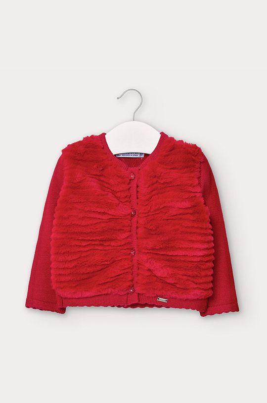 červená Mayoral - Detský sveter 68-98 cm Dievčenský