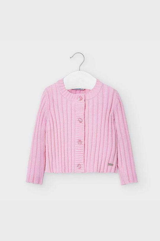 różowy Mayoral - Kardigan dziecięcy 74-98 cm Dziewczęcy
