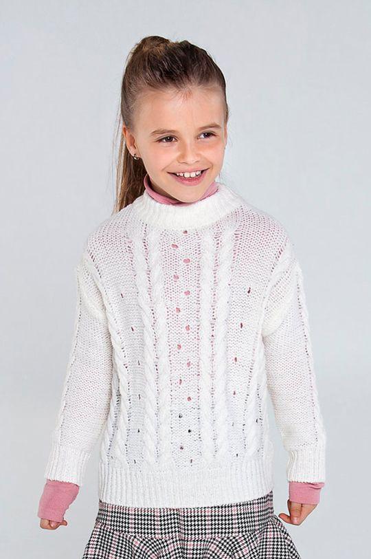 krémová Mayoral - Detský sveter 128-167 cm Dievčenský