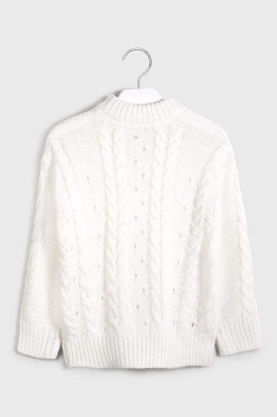 Mayoral - Detský sveter 128-167 cm krémová