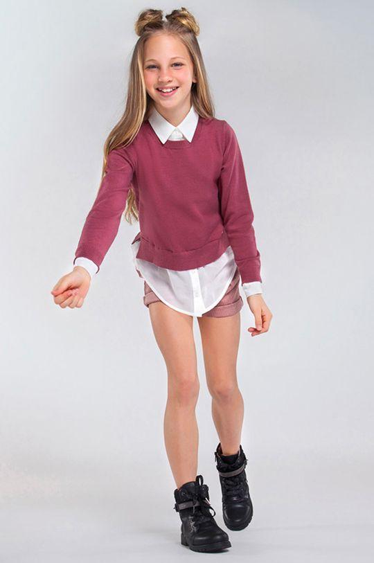 ružová Mayoral - Detský sveter 128-167 cm Dievčenský