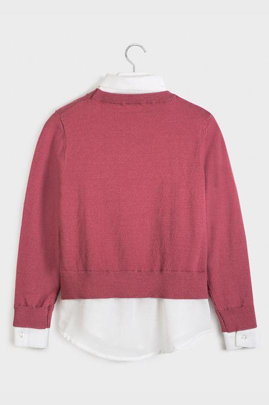 Mayoral - Detský sveter 128-167 cm ružová