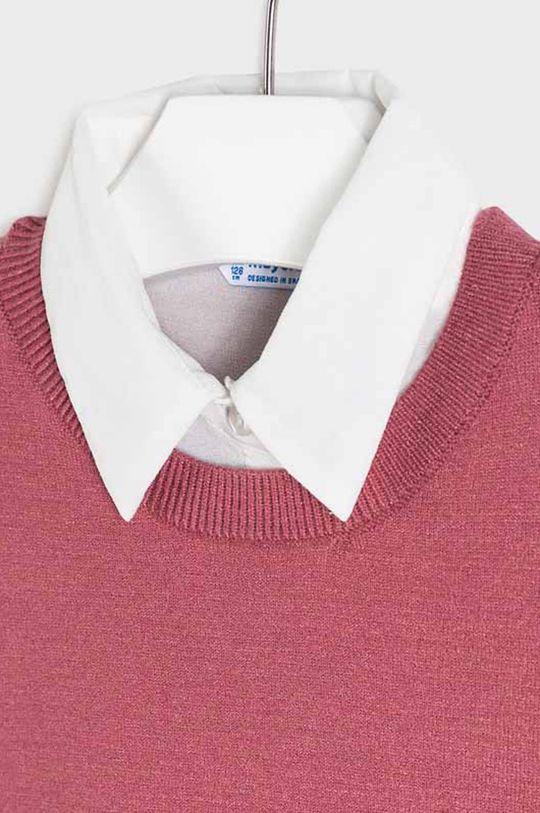 Mayoral - Detský sveter 128-167 cm  17% Polyamid, 40% Polyester, 43% Viskóza