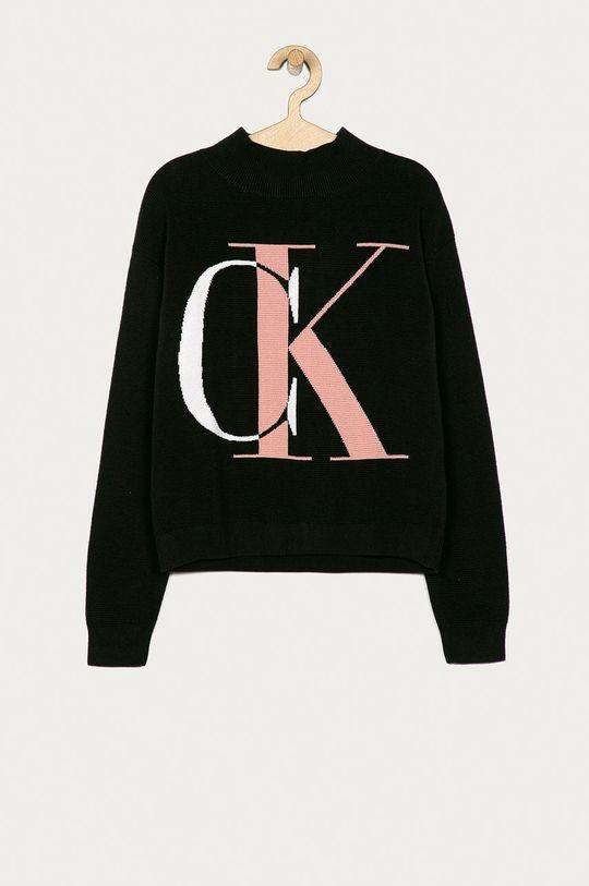 negru Calvin Klein Jeans - Pulover copii 140-176 cm De fete