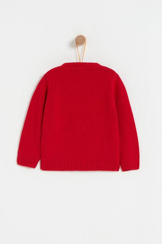 OVS - Pulover copii 74-98 cm rosu