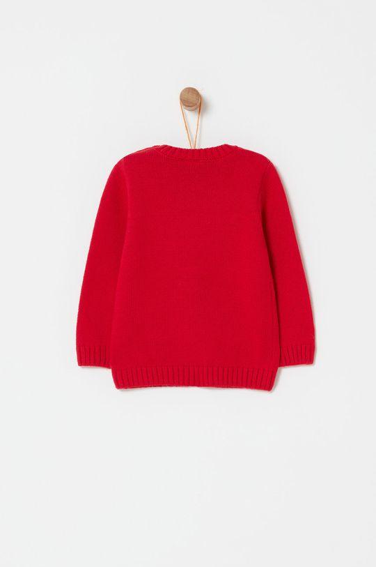OVS - Sweter dziecięcy 74-98 cm czerwony