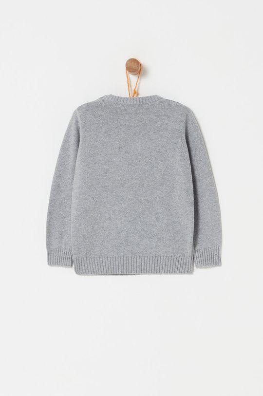 OVS - Sweter dziecięcy 74-98 cm jasny szary