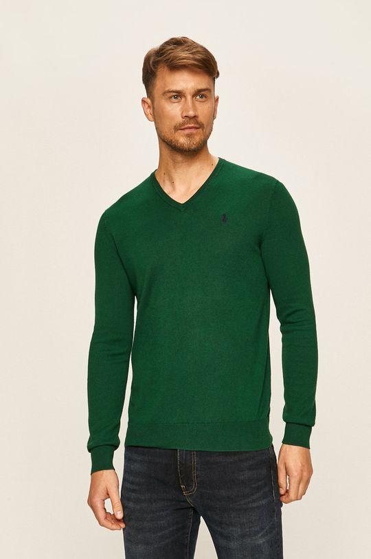 zelená Polo Ralph Lauren - Svetr Pánský