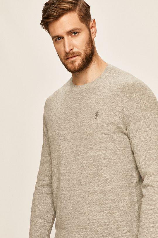 szary Polo Ralph Lauren - Sweter