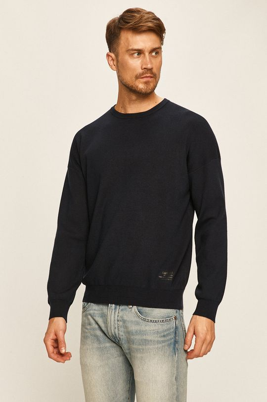 granatowy Guess Jeans - Sweter